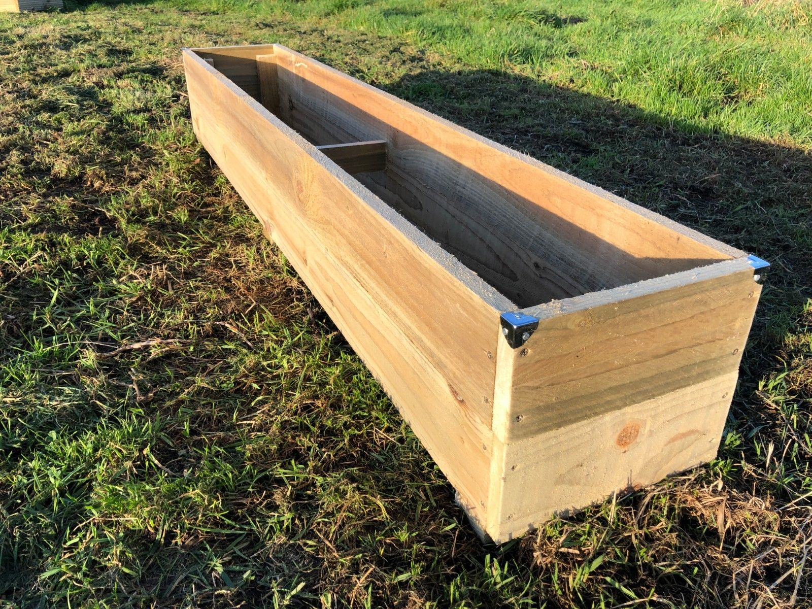 6ft Long Rustic Extra Large Jumbo Wooden Planter Garden Flower Plant Trough Tub House Of Timber